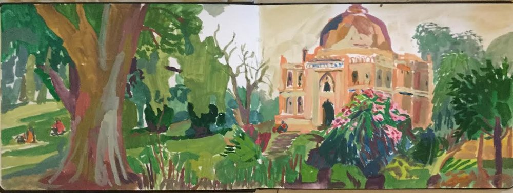 Sketchbook: Lodi Gardens