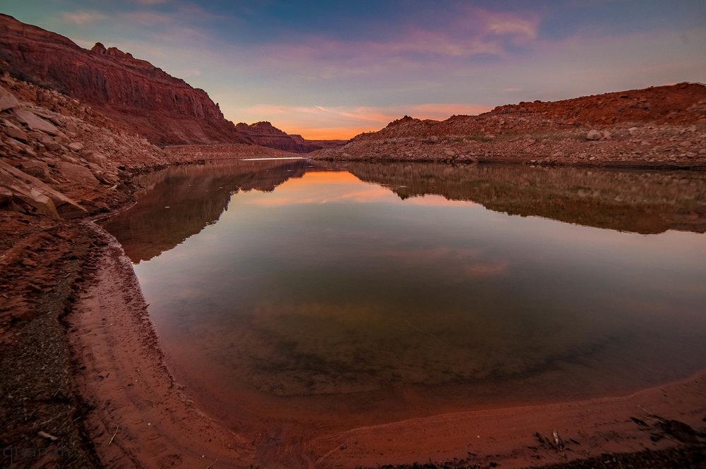 Navajo Mountain Lake