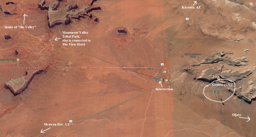 Monument valley tribal park map directions.PNG