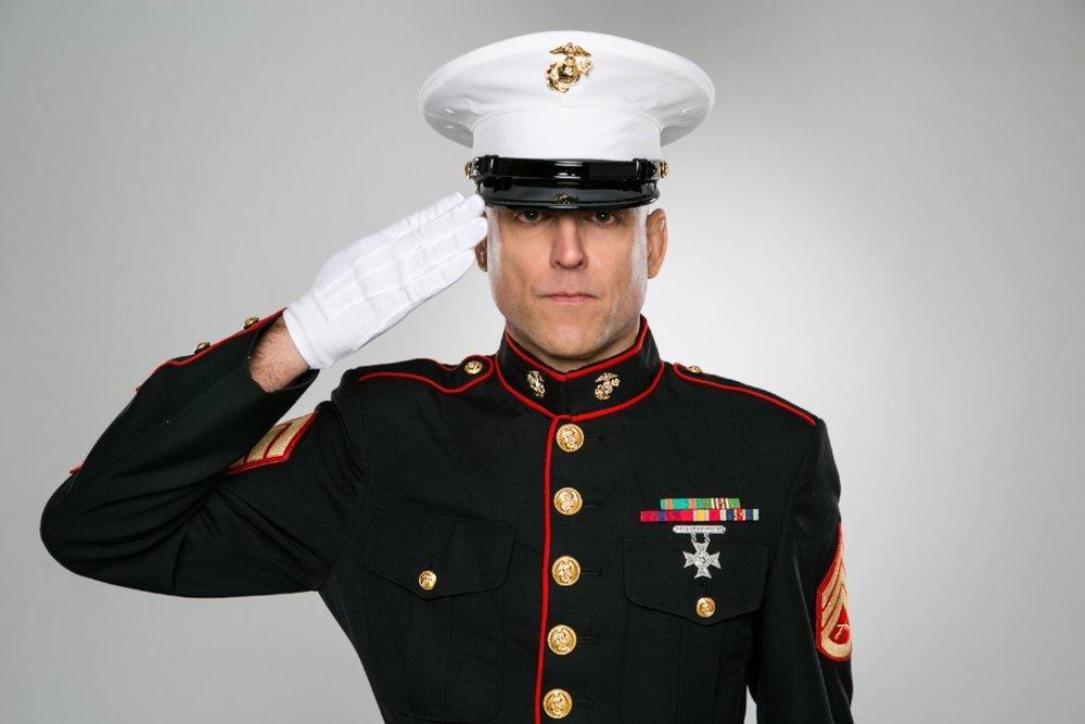 Michael Veltri Decorated Marine Corps Veteran