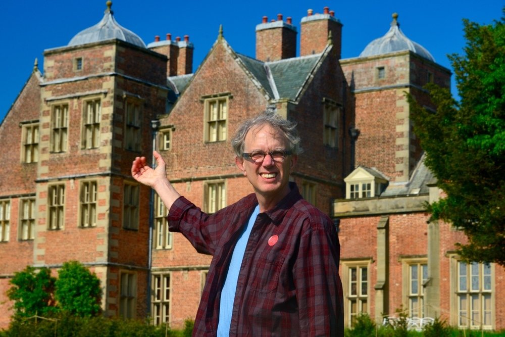 Billy at Kiplin Hall in 2016. Photo by Alfred Hickling