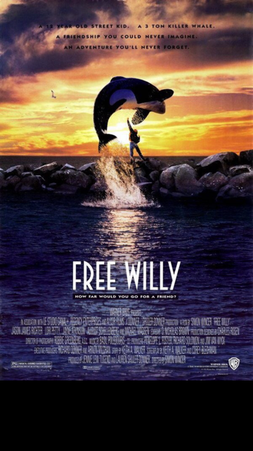 For New Year's Eve I watched Free Willy with Seth (and cried A LOT!!!)