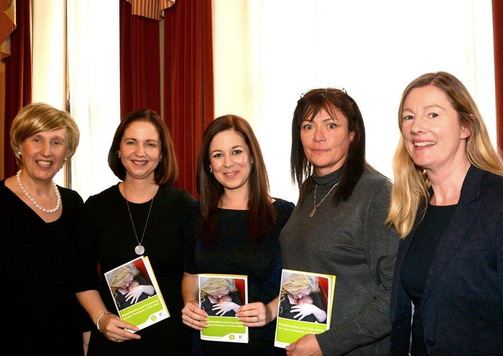 seen left to right- Lorraine O Hagan, regina keogh, Jen Crawford, claude wynne, siobhan hourigan