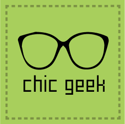 Chic Geek logo glasses