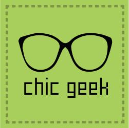 Chic Geek logo glasses