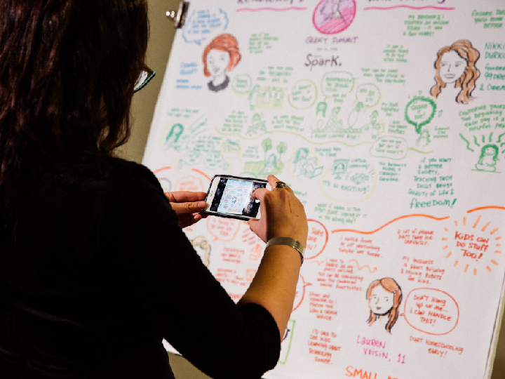 The Creative - Maybe you're a graphic designer, web UX guru, illustrator, or traditional artist. Whether you're a freelancer or in-house creative, you're determined not to become obsolete in this ever-changing landscape of digital media and social communication modes. Stay atop of tech trends and meet more of your kind.GET TICKETS >>