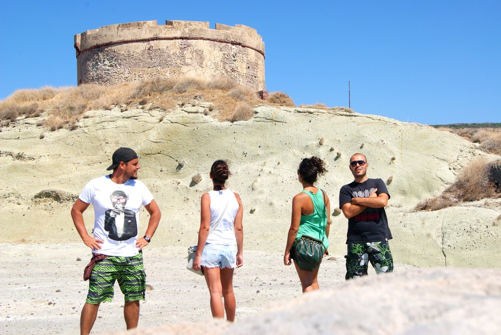 torre spagnola bosa escursione