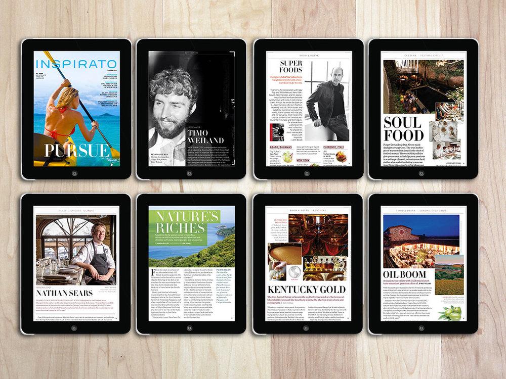 Inspirato Magazine - Mag+