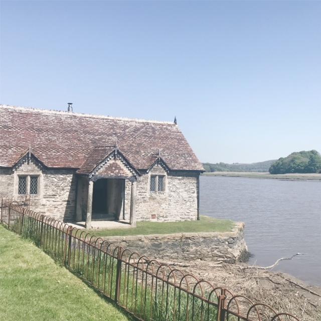 the boat house pentille castle