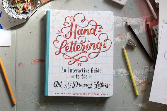 Hand-Lettering Book - $14.99