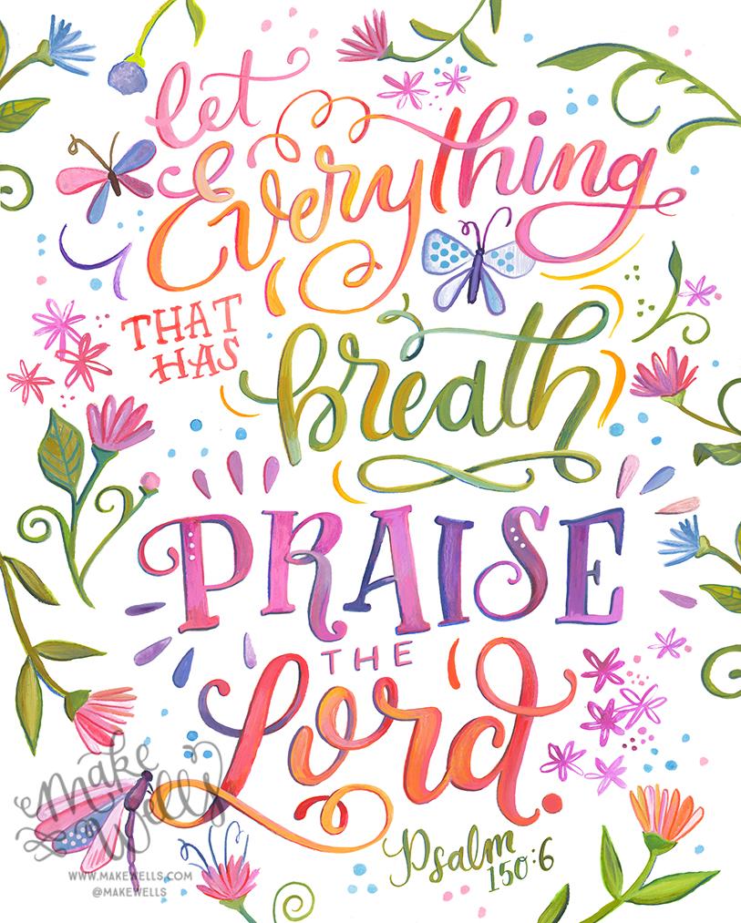 Psalm 150:6 - $18.00+