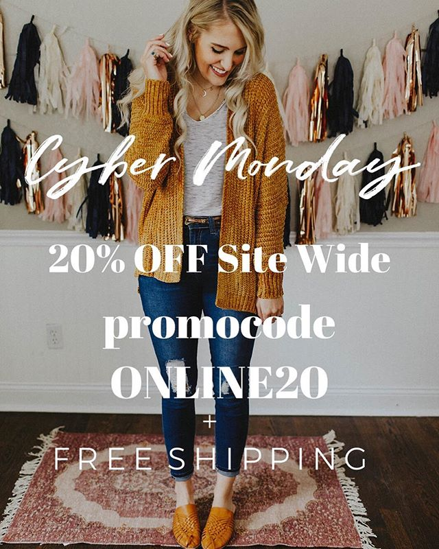 Cyber Monday.. starts NOW // 20% OFF site wide w/ promocode ONLINE20 + jingle all the way to free shipping 🎄🎄🎄 #frankieandjules #fnjstyle #shopfnj #personalshopper #shopsmall #boutiquestyle #fallfashion #fallfinds #fallstyle #ootd #whatimwearing #whatiwore #bohoblogger #midwestbloggerskc #midwestdressed #outfitinspo #styleinspo #shopkc #localkc #kansascity