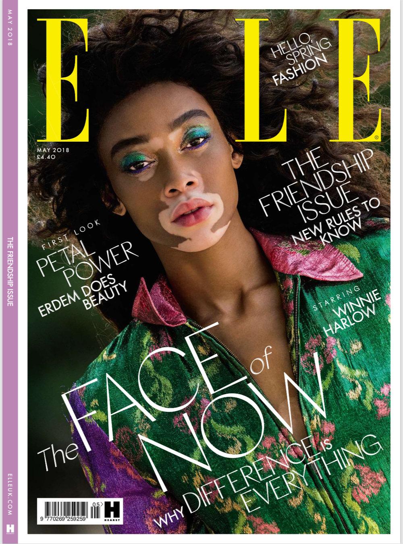 Elle Magazine- May 2018