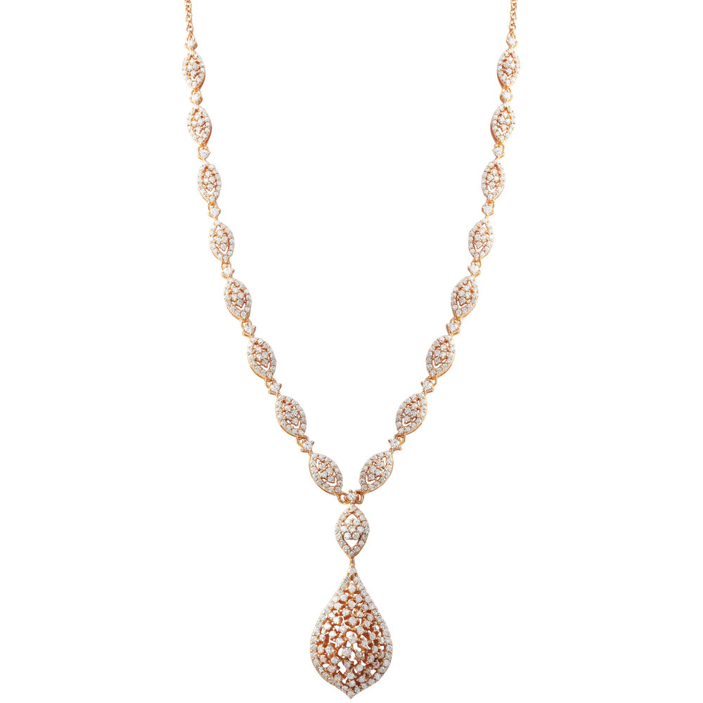 Rose Gold Tear Drop Necklace.jpg