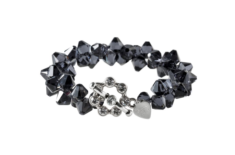 Graphite Rock Candy Bracelet