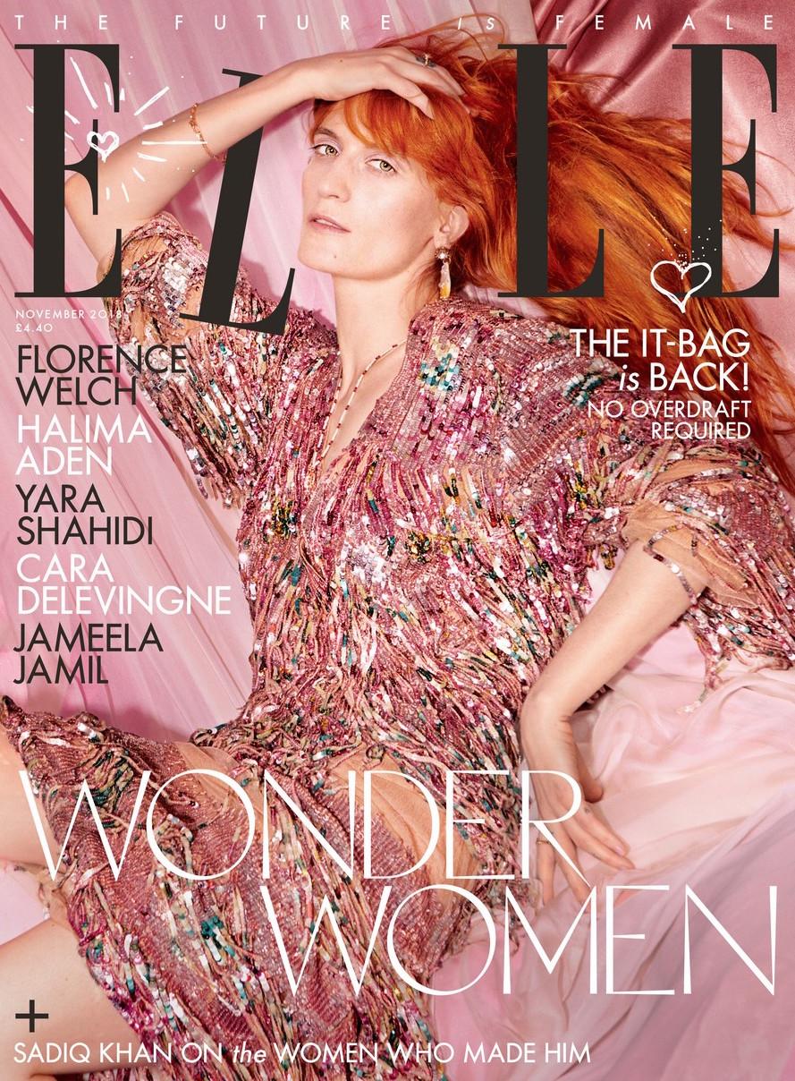 Elle Magazine- November 2018