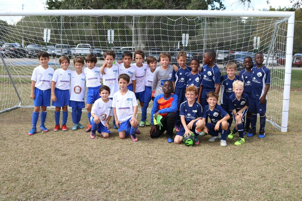 Boys Under 9 Team at Weston Cup