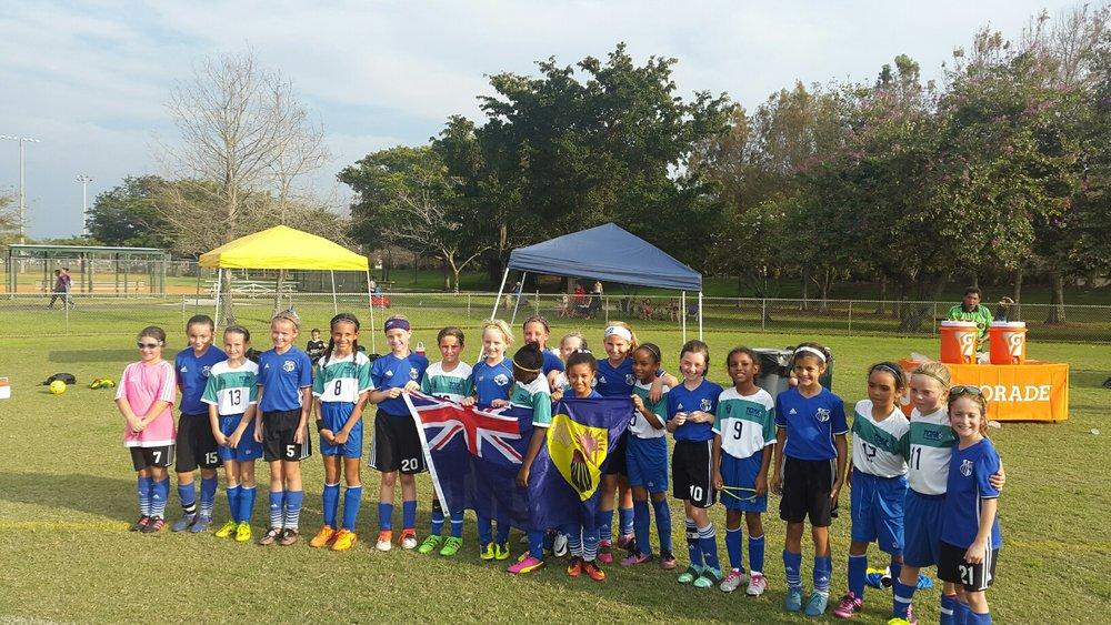 Girls under 10 team