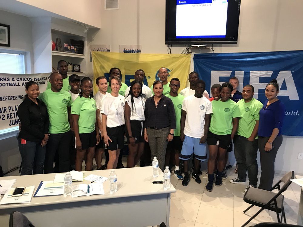 Participants of the TCIFA Referee Course and Retreat