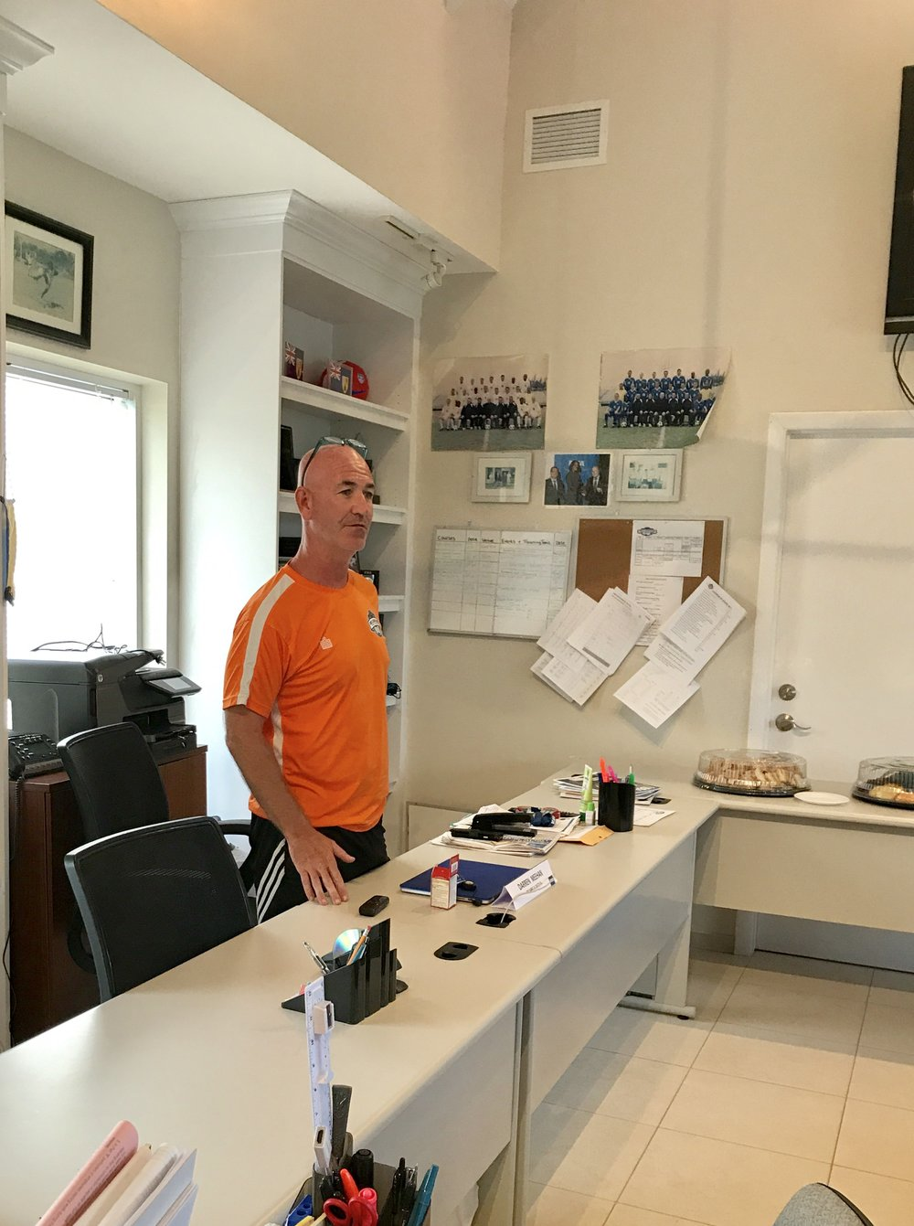 TCIFA Technical Director, Darren Meehan