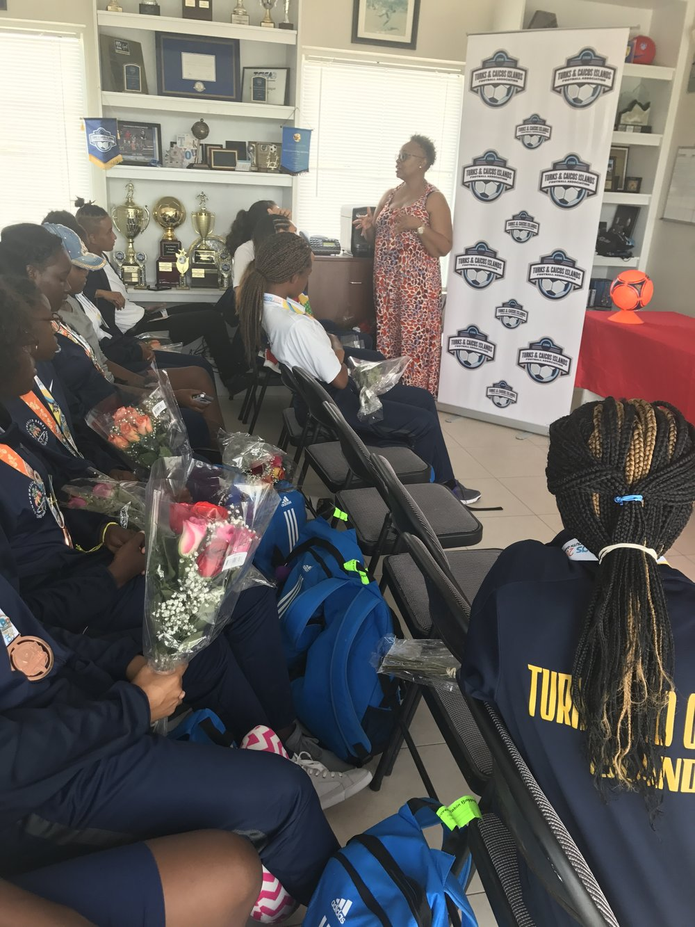 Remarks by Candace Hanchell, TCIFA Executive Director responsible for Women's Football