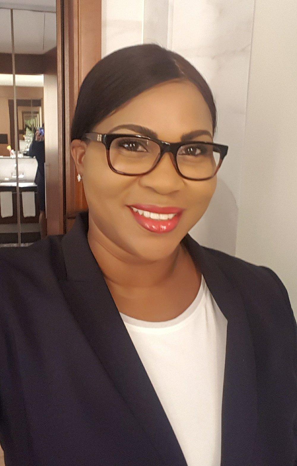 TCIFA President Sonia Bien-Aime