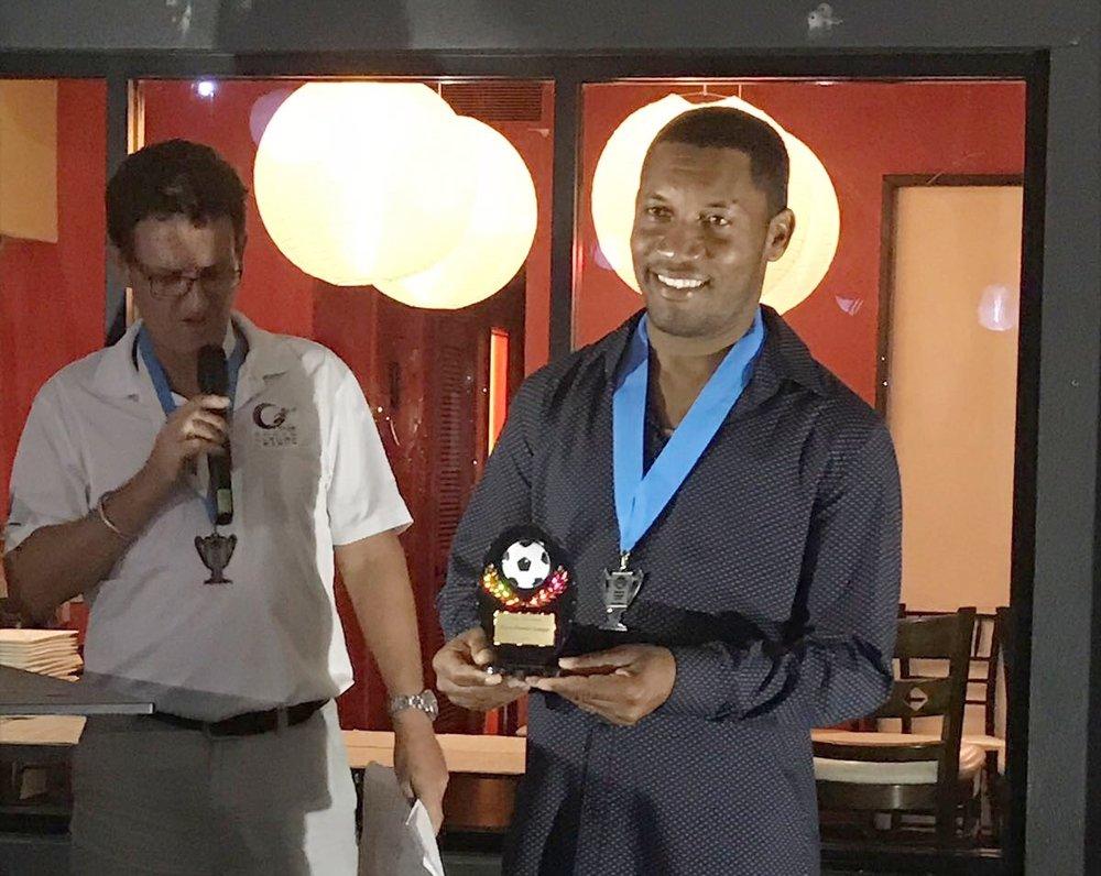 Coach Award- Leonard (Johnny) Suckrahj