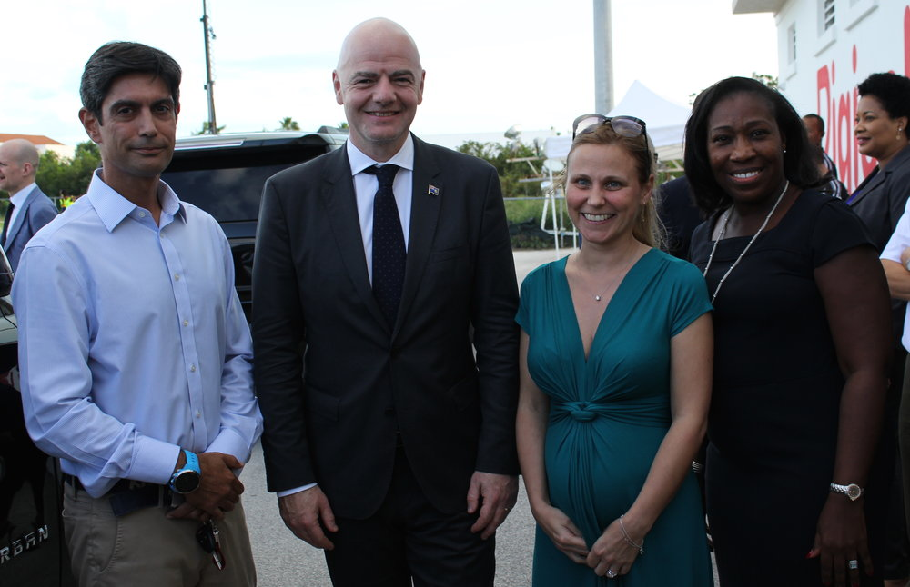 President Gianni Infantino with KH Capital