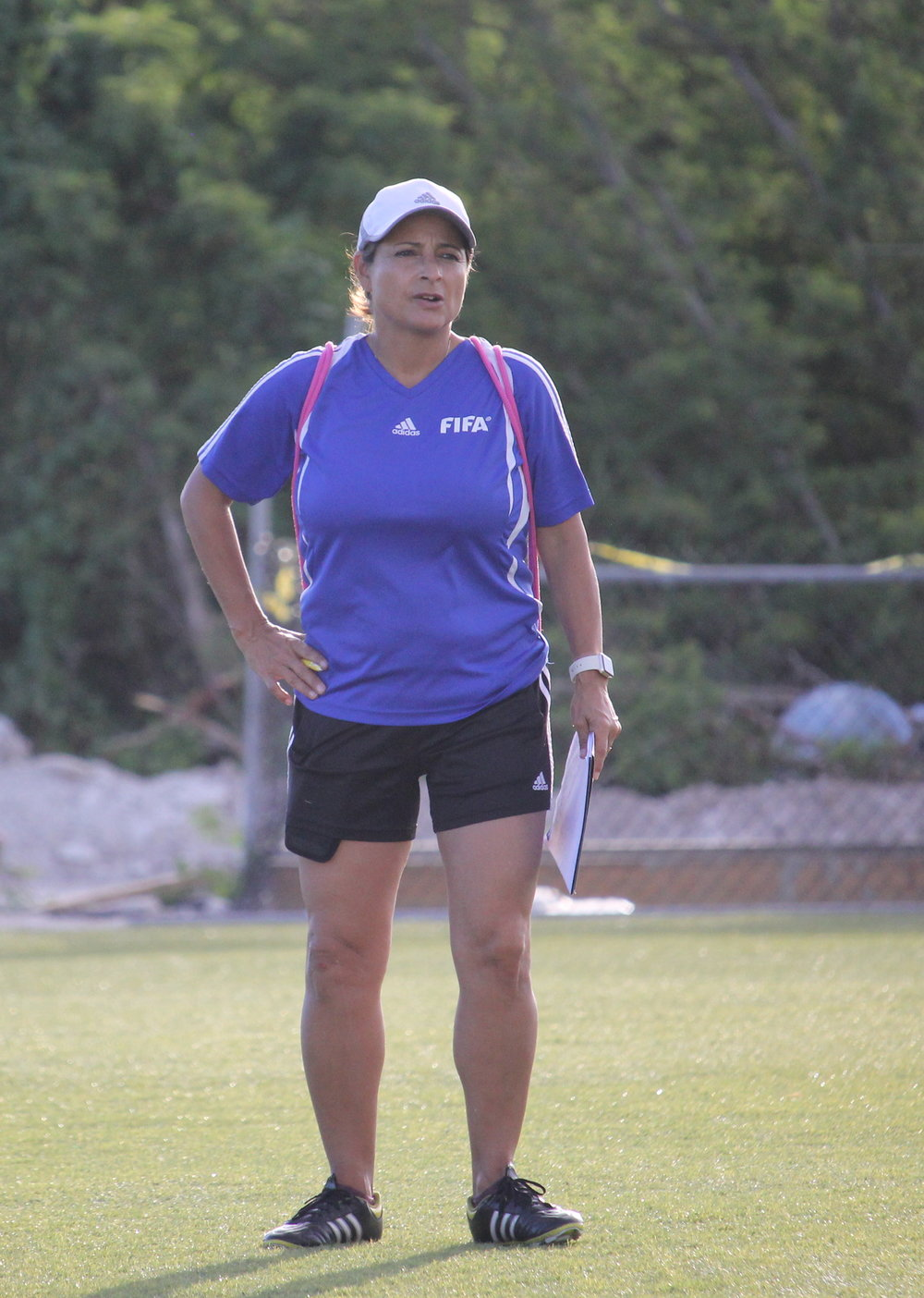 FIFA Instructor, Andrea Rodebaugh