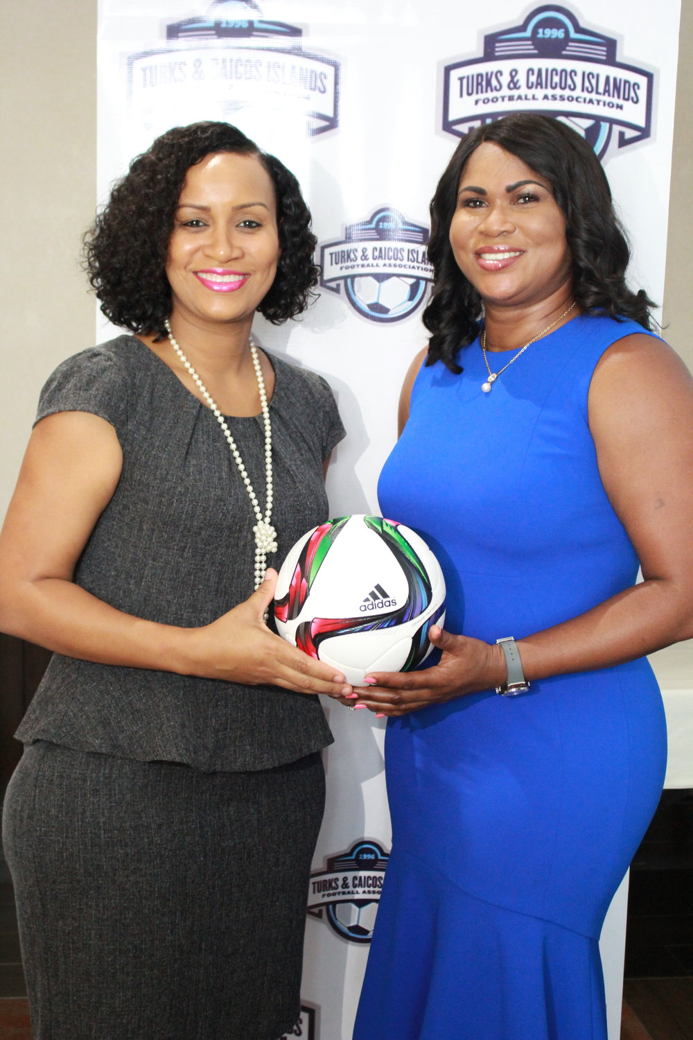 Deputy Governor Her Excellency, Hon. Anya Williams and President Fulford