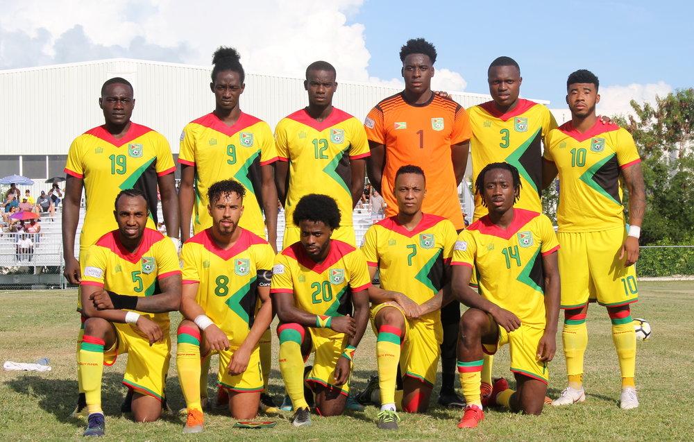 Guyana Starting 11