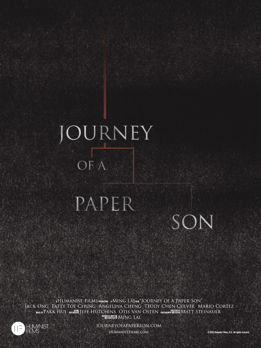 """""""Journey of a Paper Son,"""" our short film about a father who reveals to his family that he's a """"paper son"""" (an illegal immigrant using fake papers), was an Official Selection of a dozen national film festivals and won the Best Short Film Gold Angel Award at the Chinese American Film Festival.   Learn more.    Buy on Amazon."""