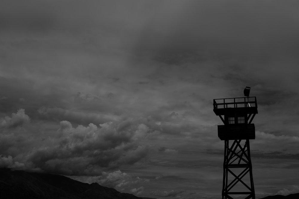 Manzanar War Relocation Center/Guard Tower, Independence, CA