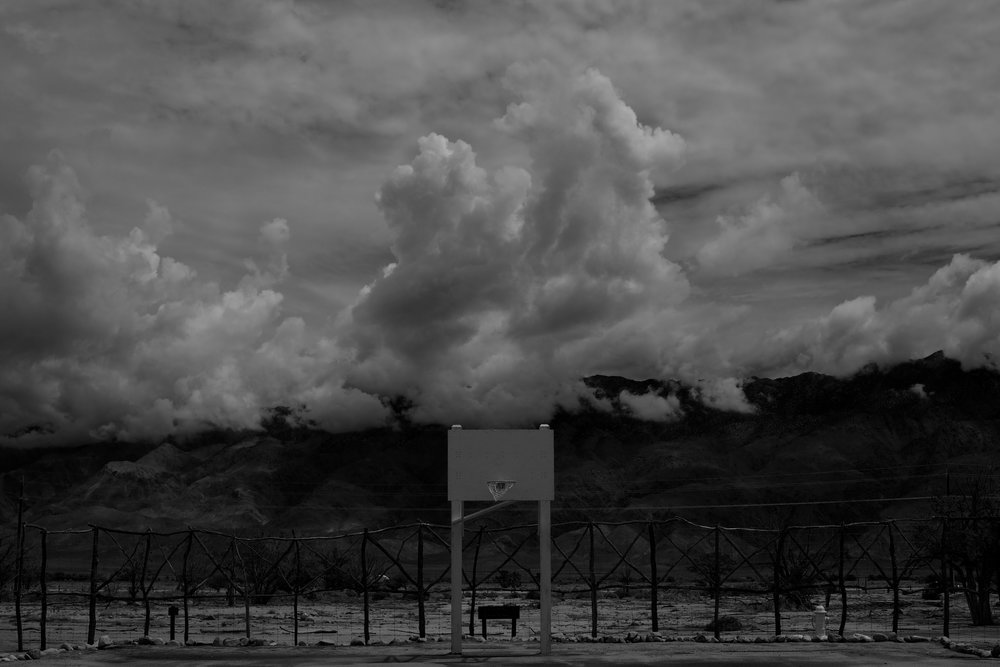 Manzanar War Relocation Center/Basketball Court, Independence, CA