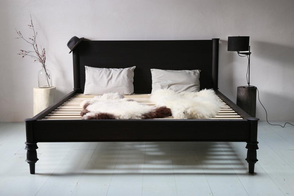 Meditation Bed w Headboard Walnut Ebonized Staged.jpg