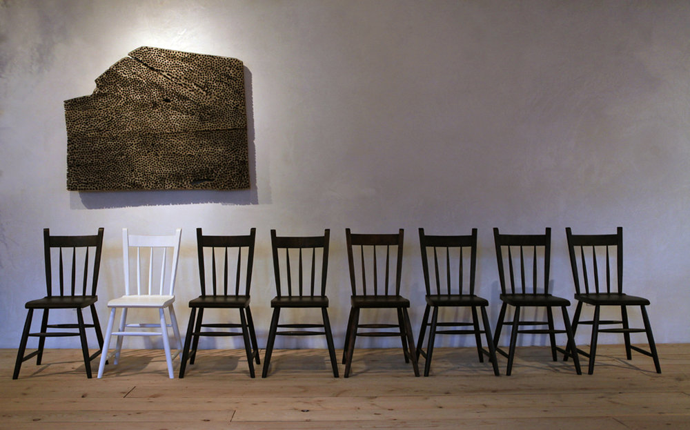 Tremper Rabbit Chair, Line Up in Showroom, 2.jpg