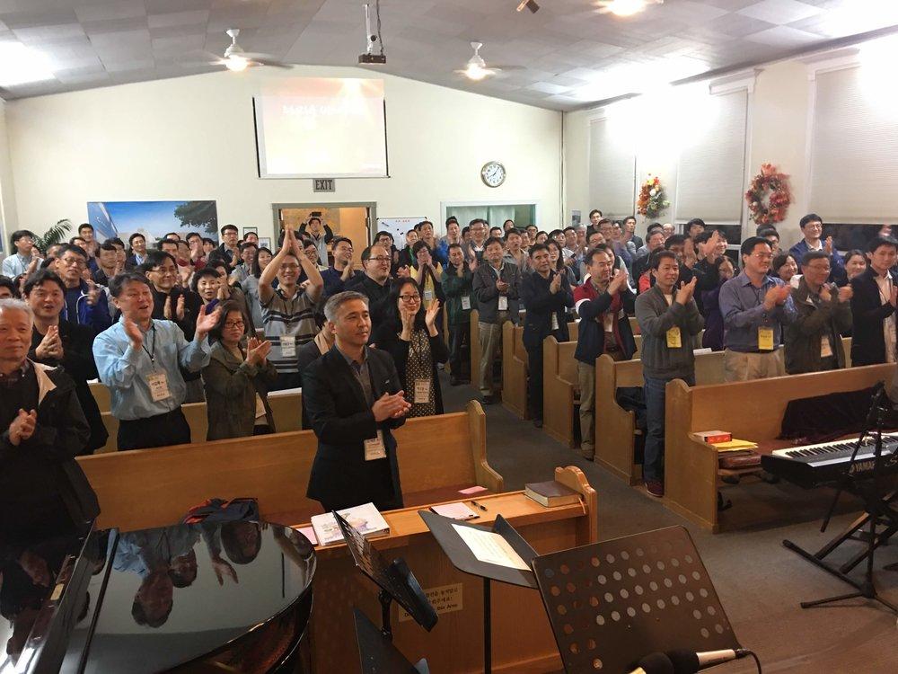 컨퍼런스를 섬겨주신 목자님들과 성도님들에게 감사를 드립니다. @ 온누리성결교회, Protland