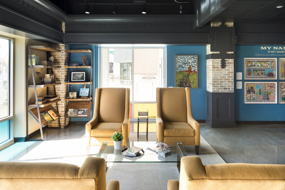 reading room | Vela Creative | Commercial Interior Design