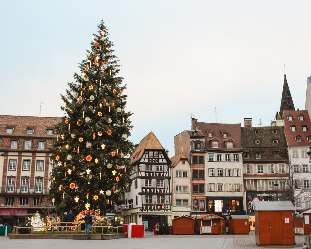 Christmas in  Strasbourg  is a magical experience.