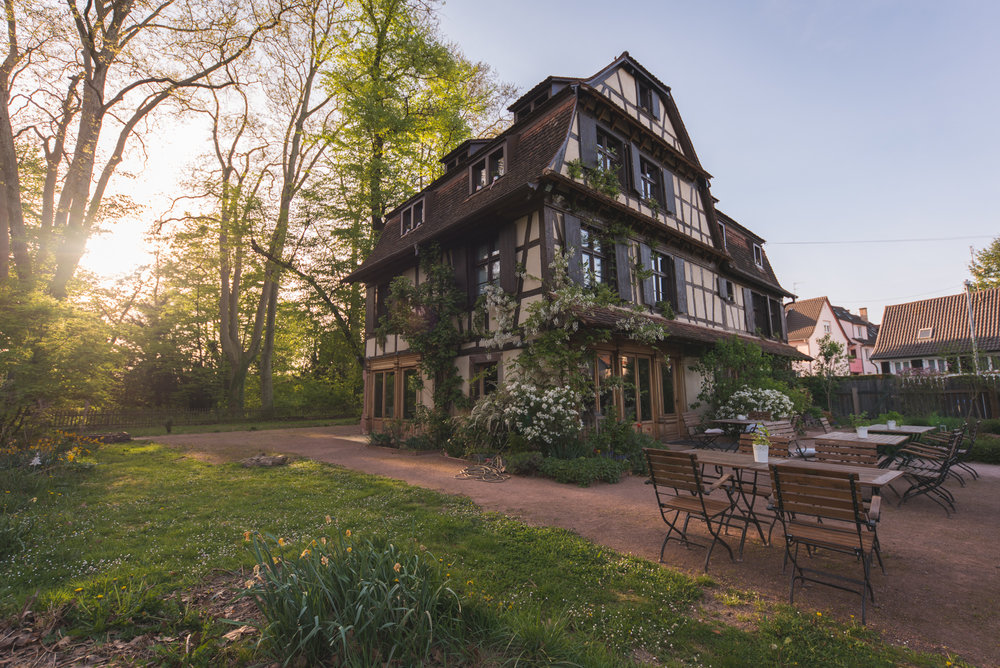 Du Côte de Chez Anne  sits majestically in Strasbourg.