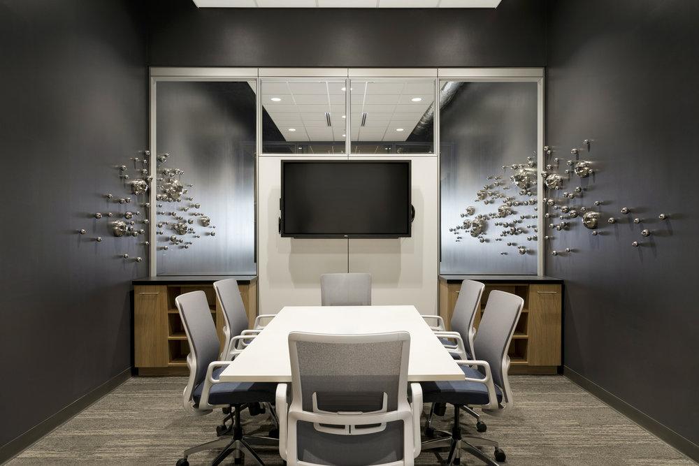 Conference Room Design | Vela Creative Interior Design | St. Paul, MN