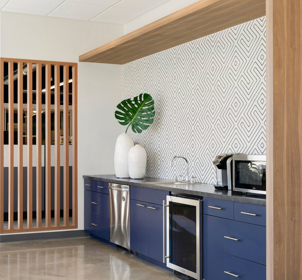 Office Cafe Design | Vela Creative | Commercial Interiors Minneapolis