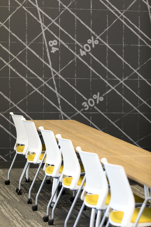 Custom Wall Graphic | Vela Creative Interior Design | Minneapolis St. Paul