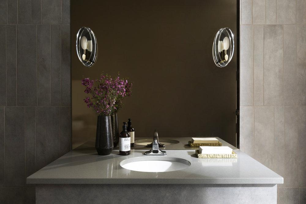 Modern Restroom Design | Vela Creative