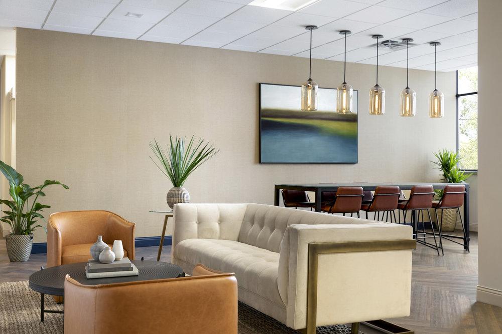 Lounge Design | Vela Creative | Minneapolis, MN