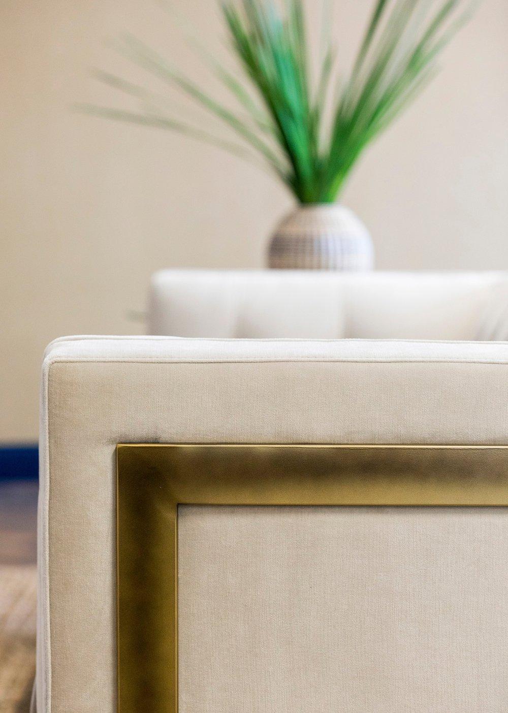 Sofa Detail | Vela Creative