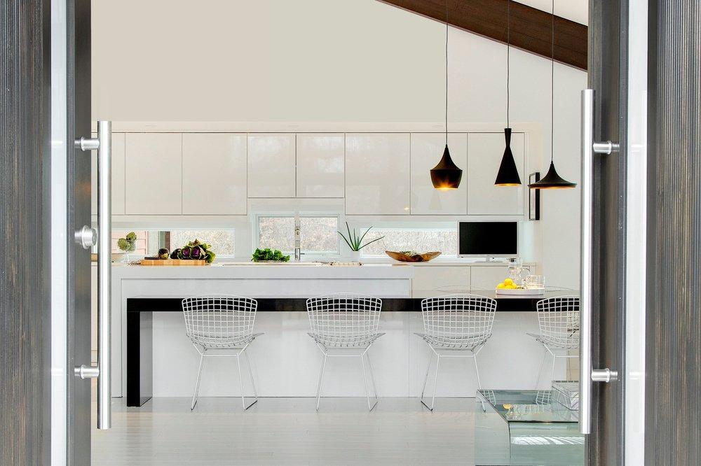 Modern Entry Interior Design | Vela Creative | Twin Cities