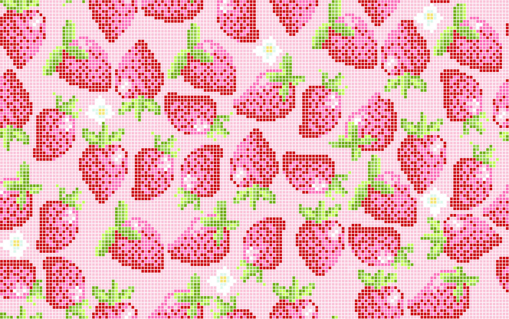 strawberries pink 6 inch-01.jpg