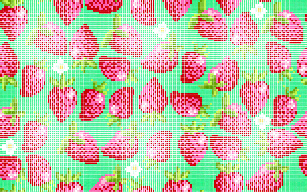 strawberries turquoise 6 inch-01.jpg