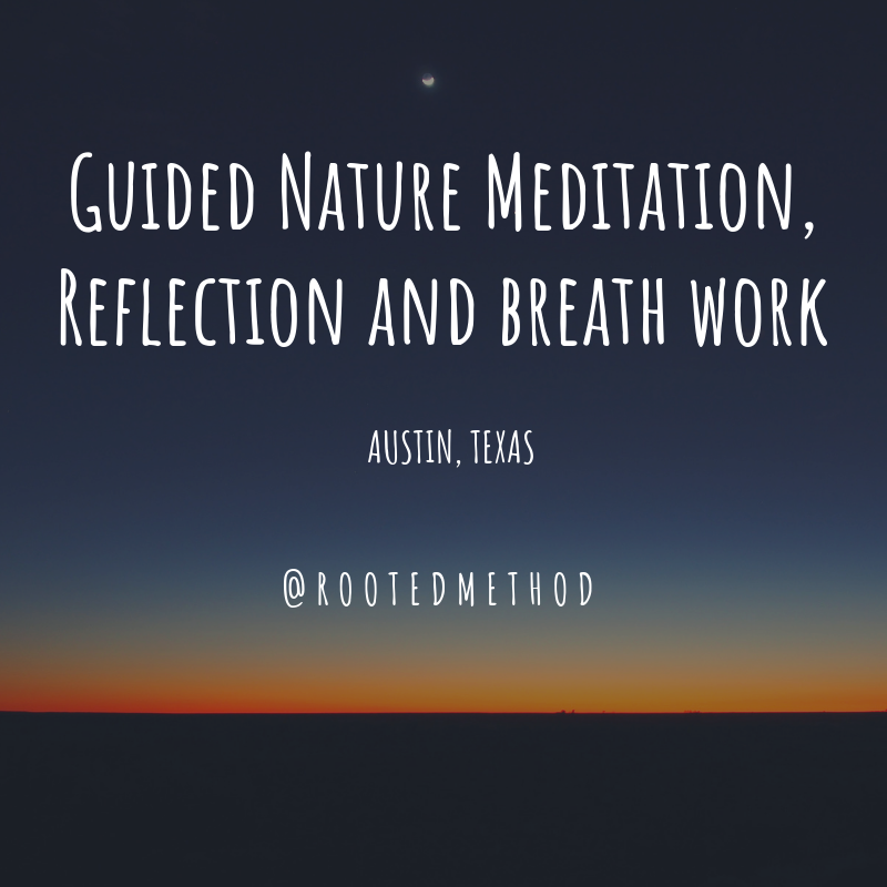 Guided Nature Meditation, Reflection and.png